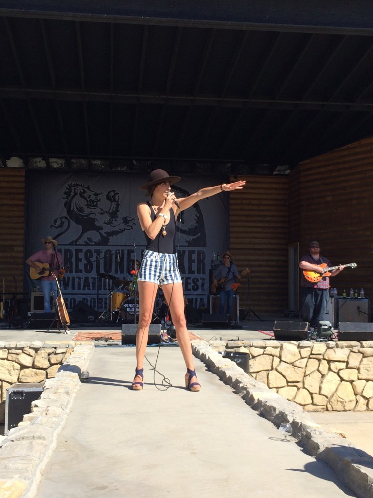Nicki Bluhm and the Gramblers at 2014 Firestone Walker Invitational Beer Fest
