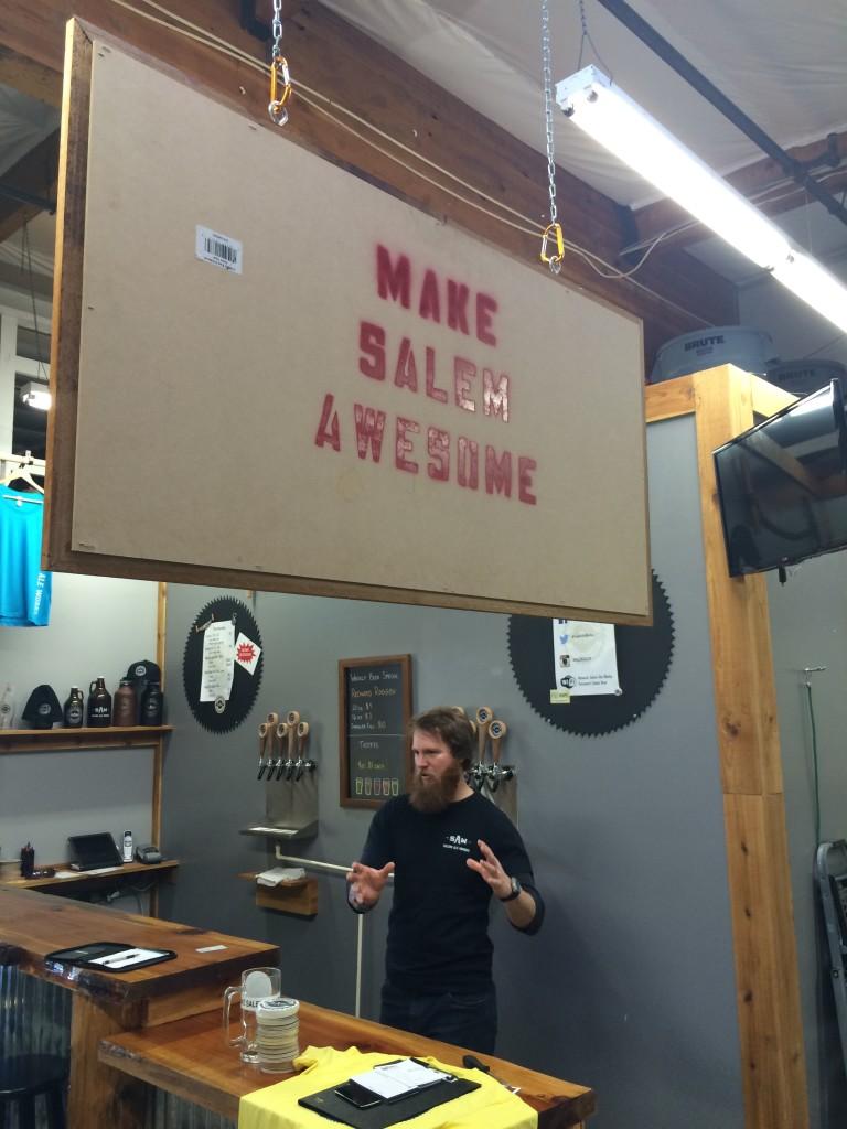 Salem Ale Works helps Makes Salem Awesome