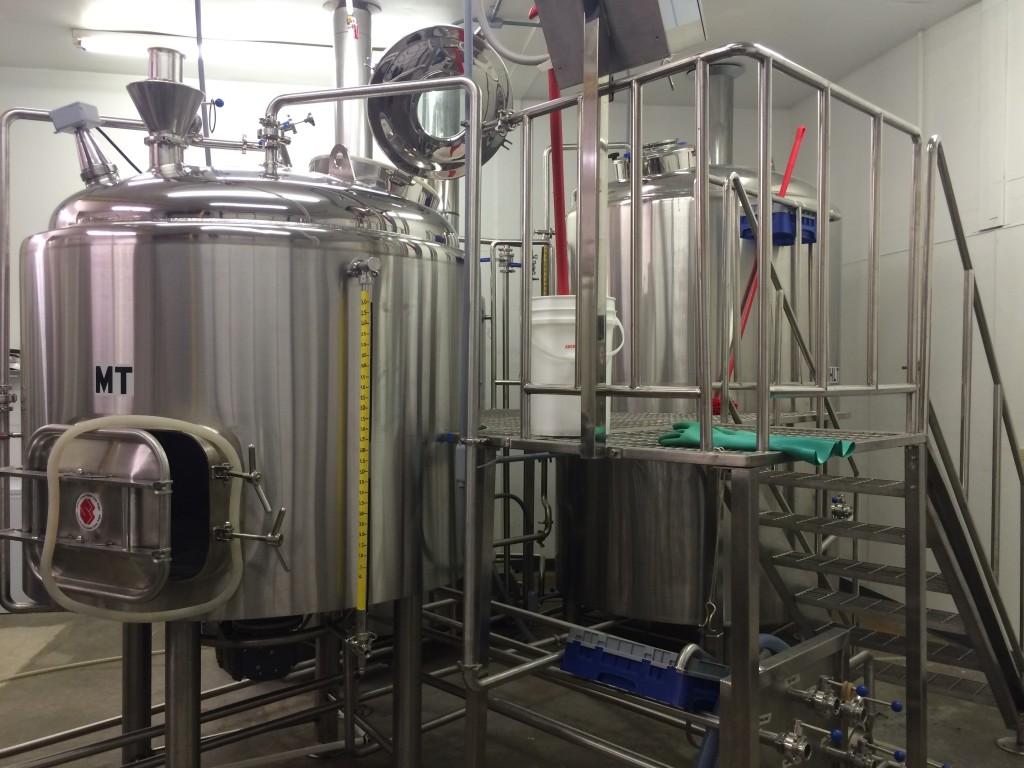 Santiam Brewing Brewhouse