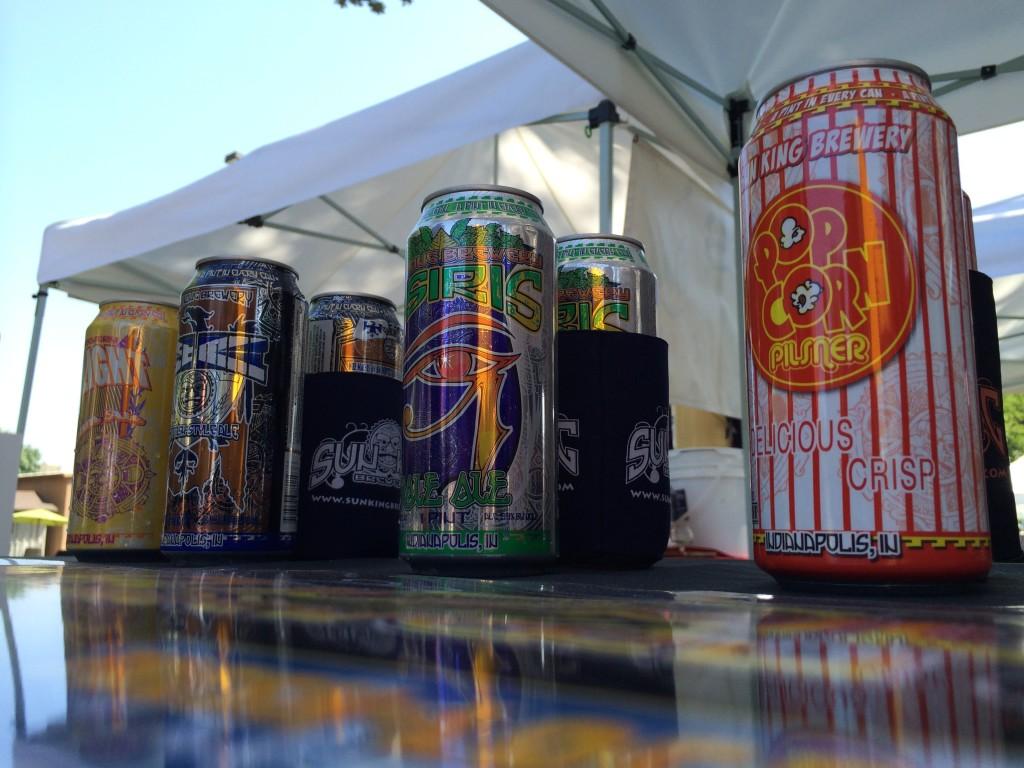Sun King at 2014 Firestone Walker Invitational Beer Fest