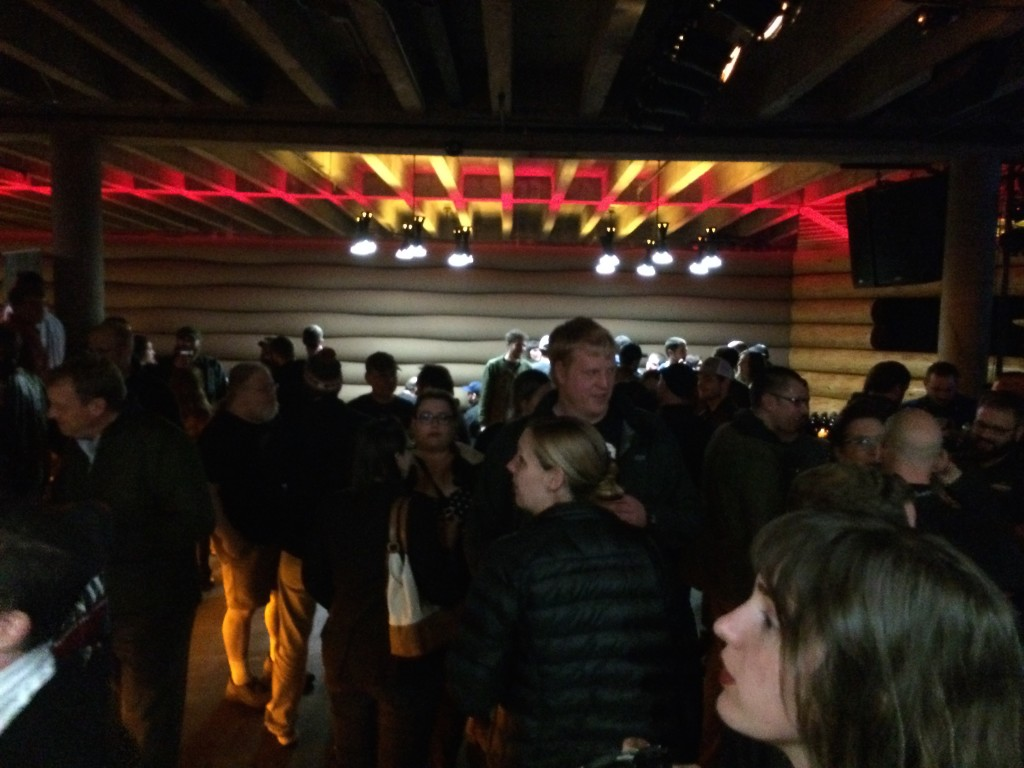 The Festive Crowd at the Doug Fir for the 2015 Oregon Beer Awards