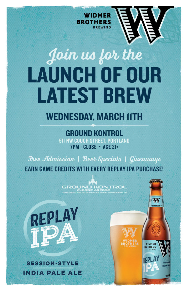 Widmer Brothers Replay IPA Launch Party