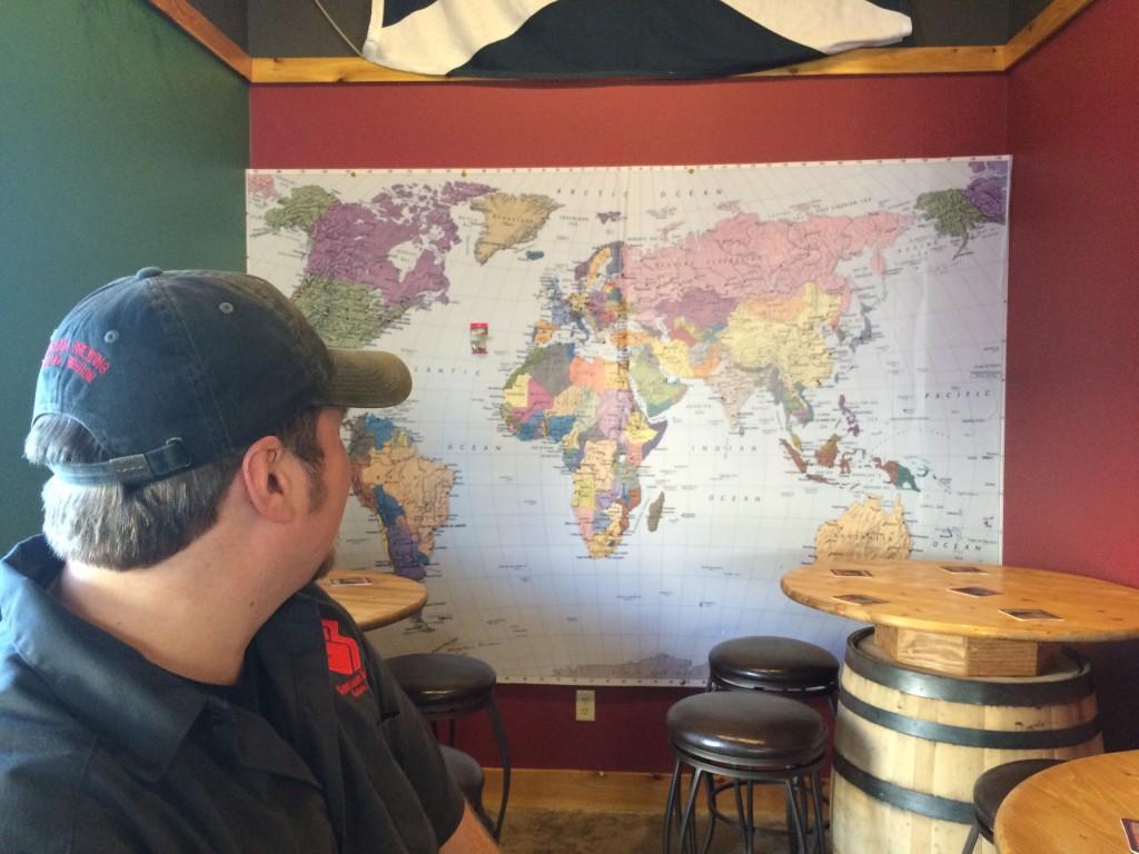 Worldly Travelers to Santiam Brewing