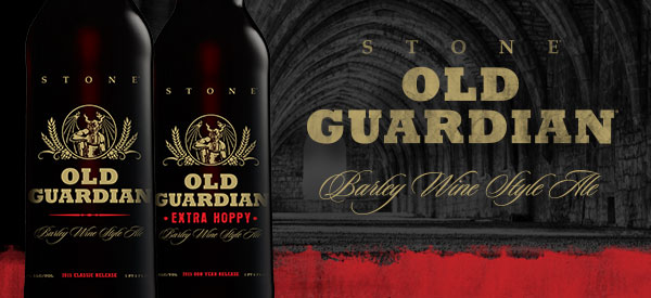 Stone Old Guardian 2015 Barleywines