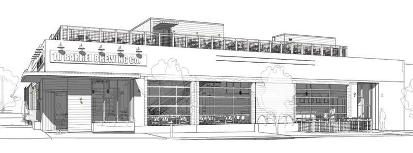 10 Barrel Brewing Portland Architect Rendering