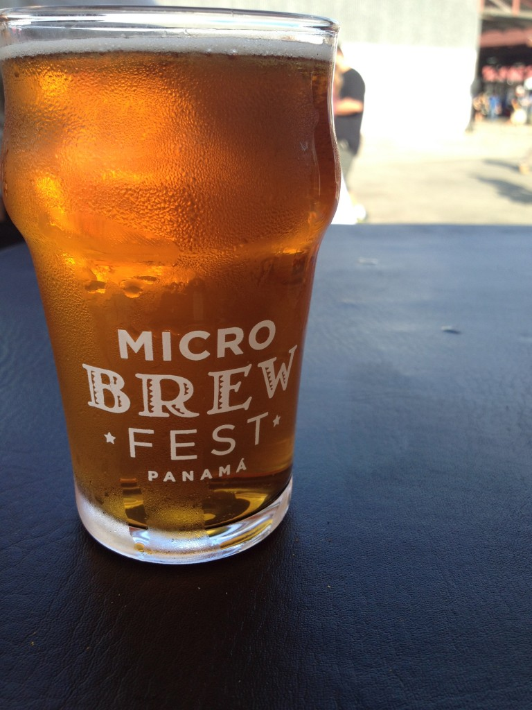 A Beer at the 3rd Annual Panama Microbrew Fest