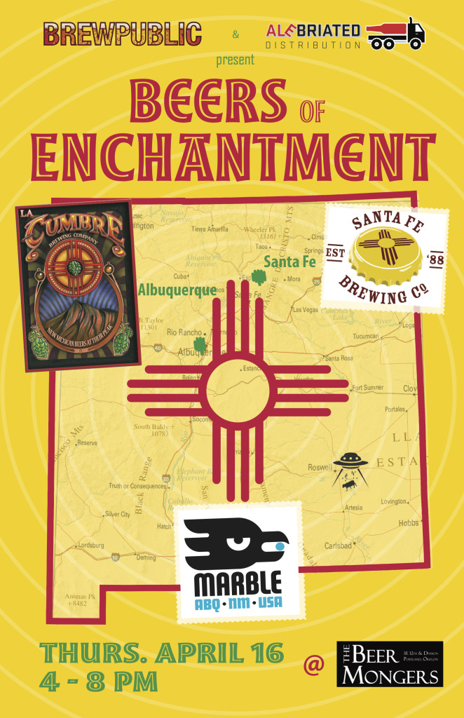 BREWPUBLIC & Alebriated Distribution Presents Beers of Enchantment at The BeerMongers