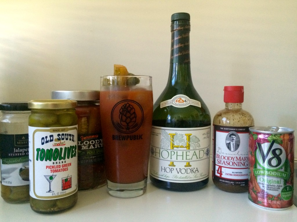 Bloody Mary with Anchor Distilling Co. Hophead Vodka