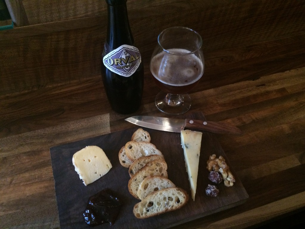 Chizu Cheese Plate and Orval