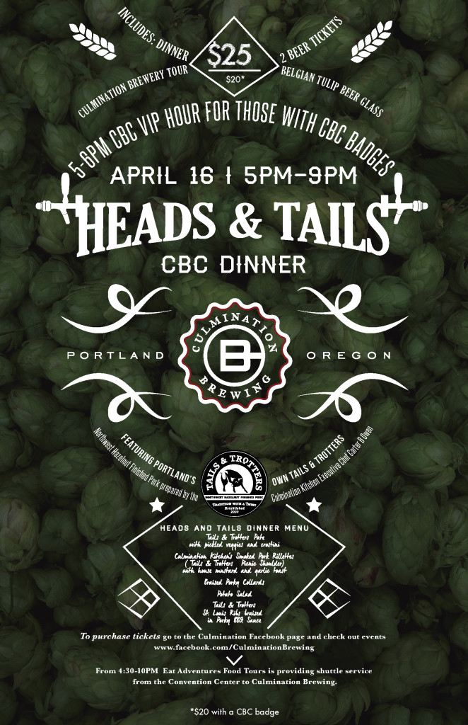 Culmination 2015 CBC Heads and Tails Poster