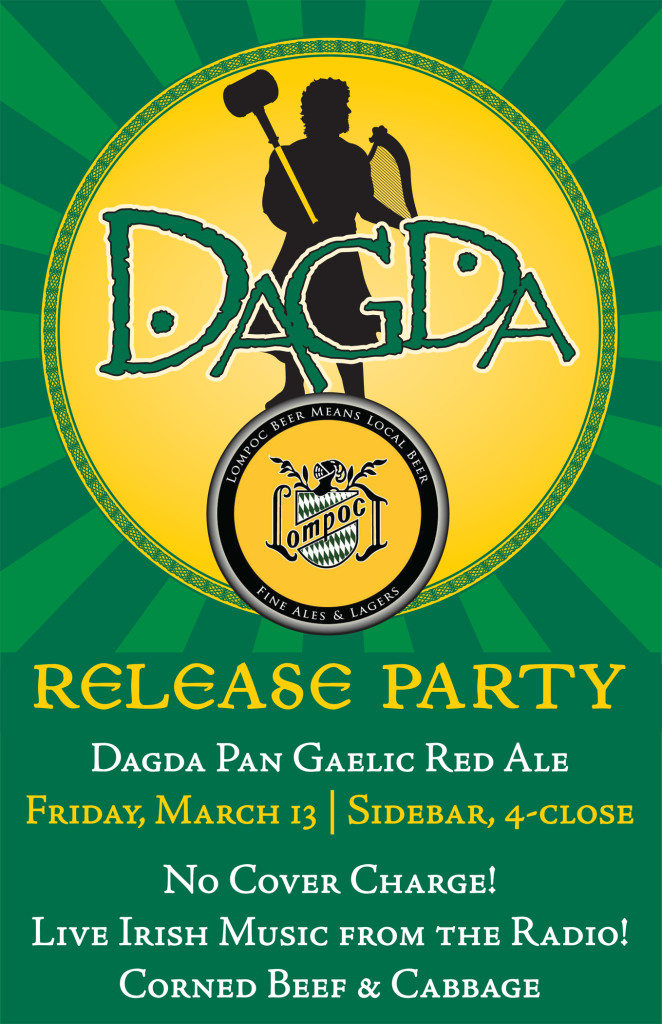 Dagda Pan Gaelic Red Ale Release Party