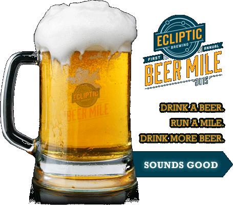 Ecliptic Beer Mile