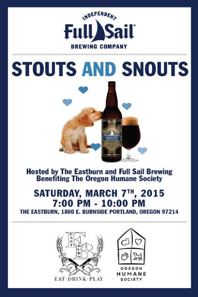Full Sail Brewing and Eastburn host Stouts and Snouts
