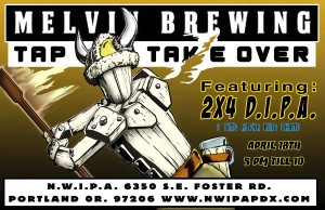 Melvin Brewing Tap Takeover at NWIPA CBC