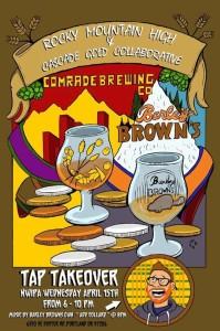 N.W.I.P.A. Barley Brown's meets Comrade