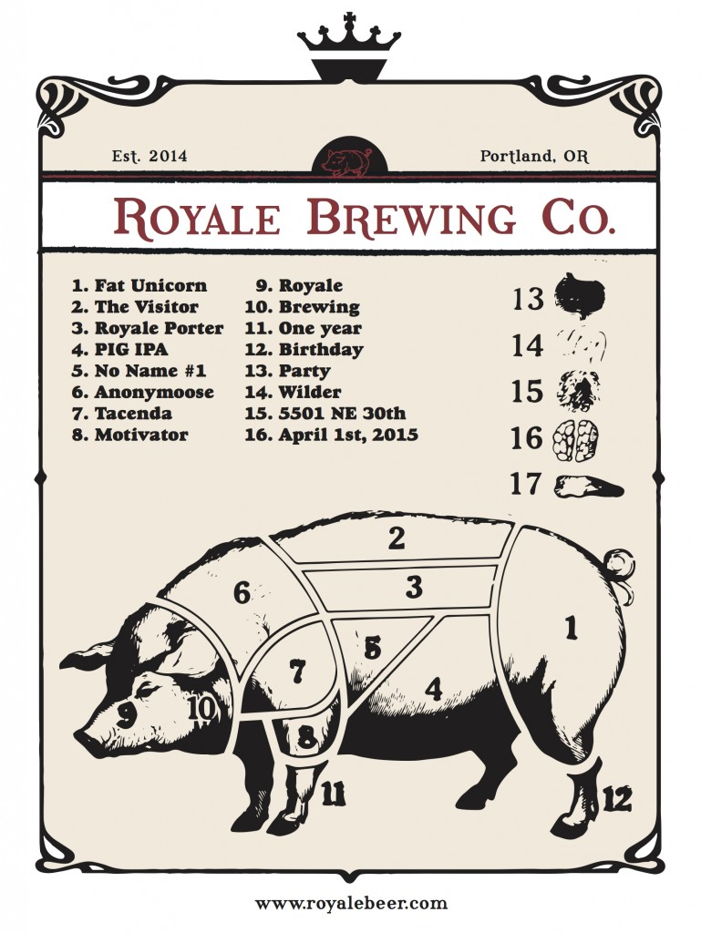 Royale Brewing One Year Anniversary