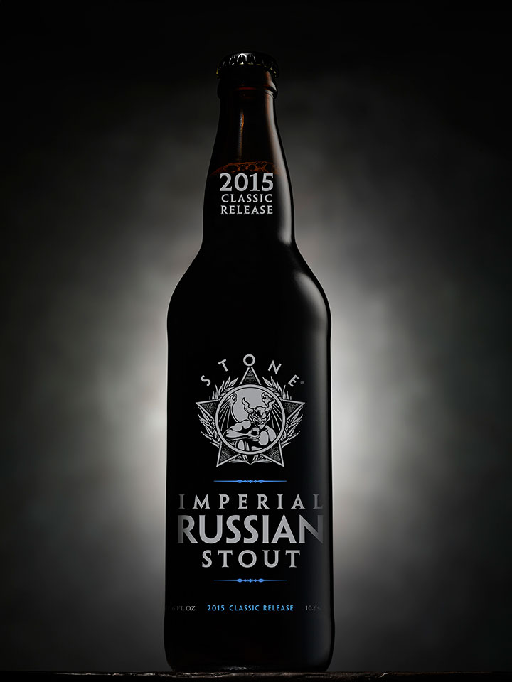 Stone 2015 Imperial Russian Stout Bottle
