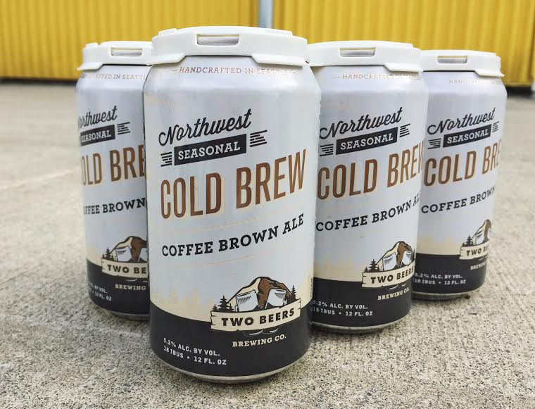 Two Beers Cold Brew Coffee Brown Ale