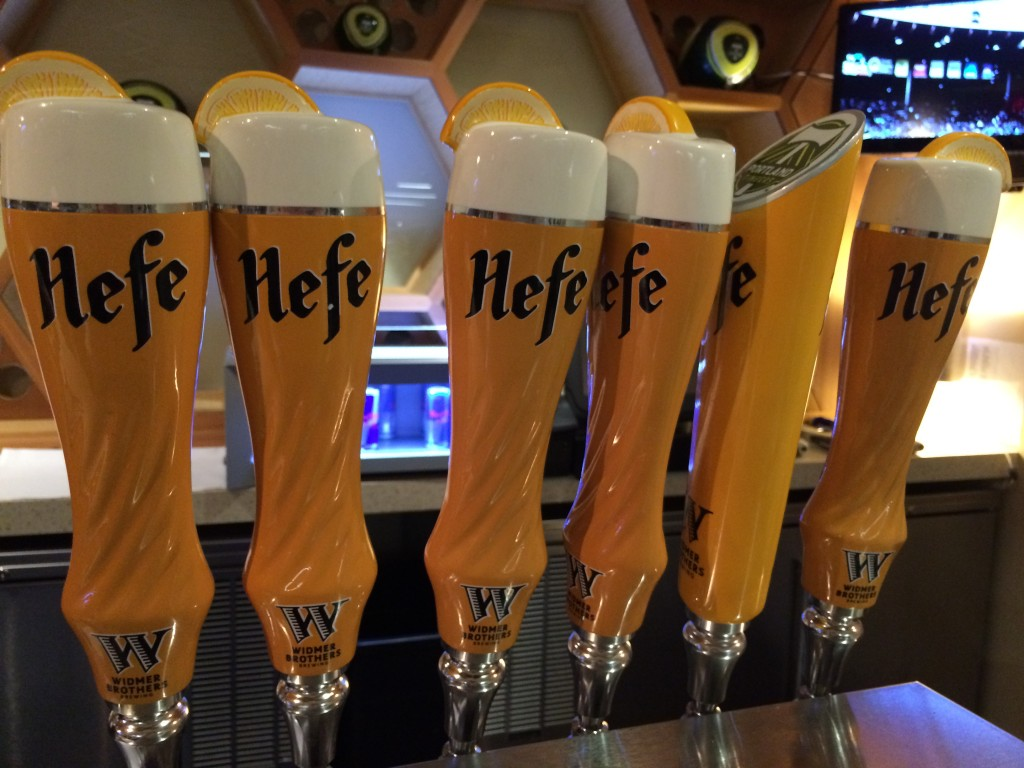 Widmer Brothers Brewing Hefeweizen Tap Handles