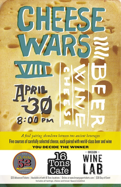 16 Tons Cheese Wars VIII Poster