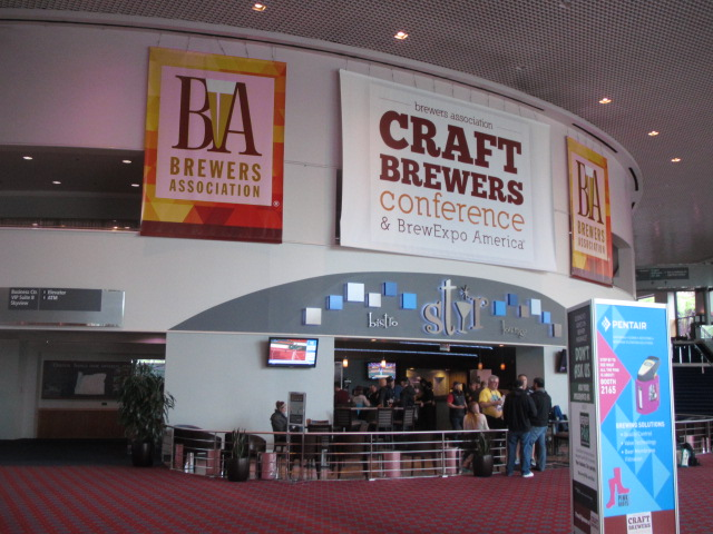 Craft Brewers Conference and Brew Expo in Portland, Oregon USA