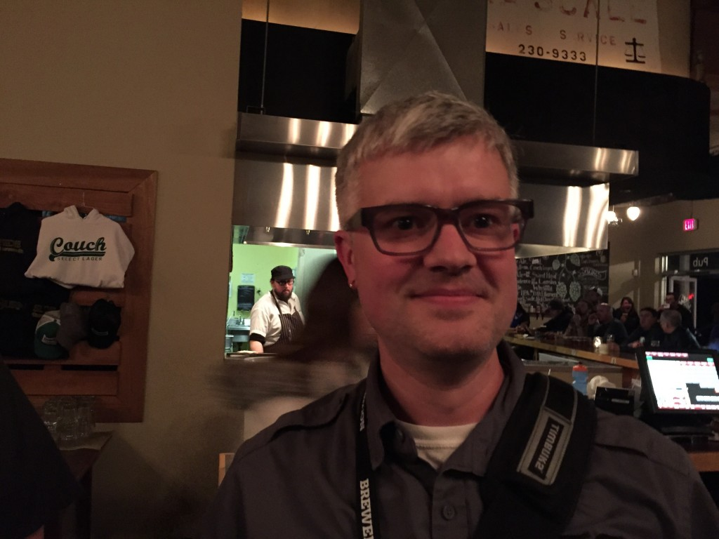 33 Beers' Dave Seldon at Burnside Brewing
