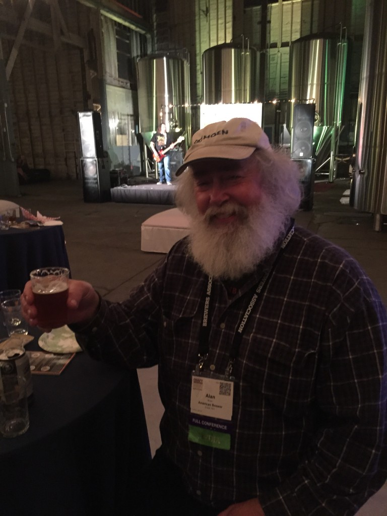 Northwest Brew writer and advocate Alan Moen