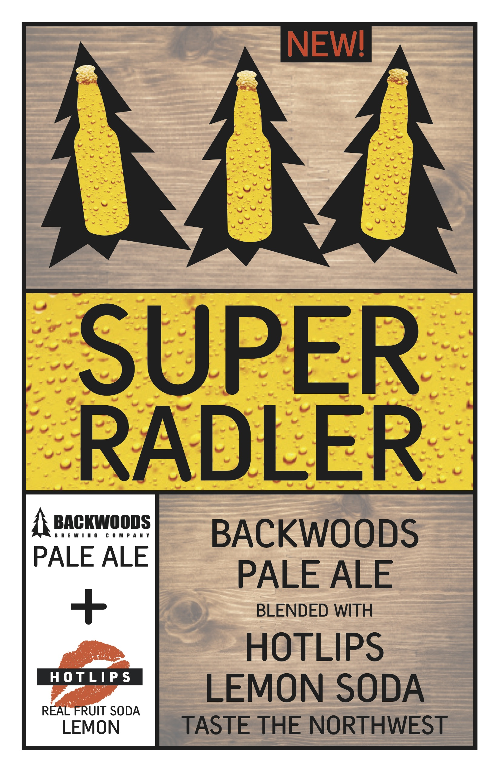 Backwoods Brewing & HOTLIPS Soda Super Radler