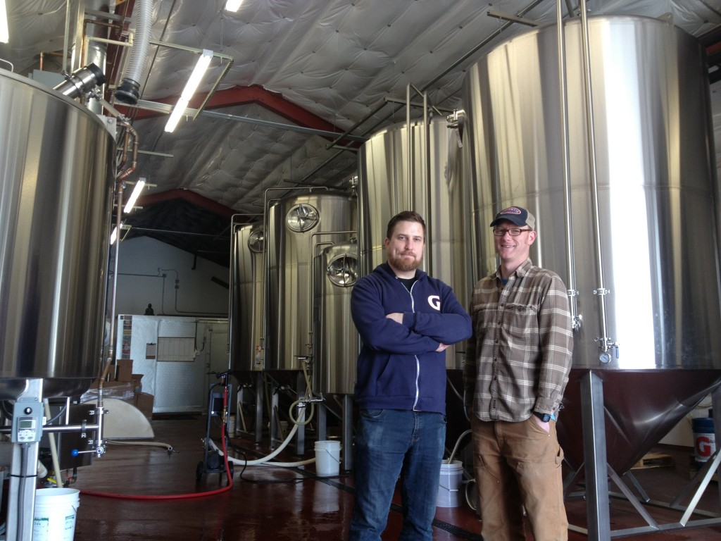 Ben Love and Van Havig Gigantic Brewing