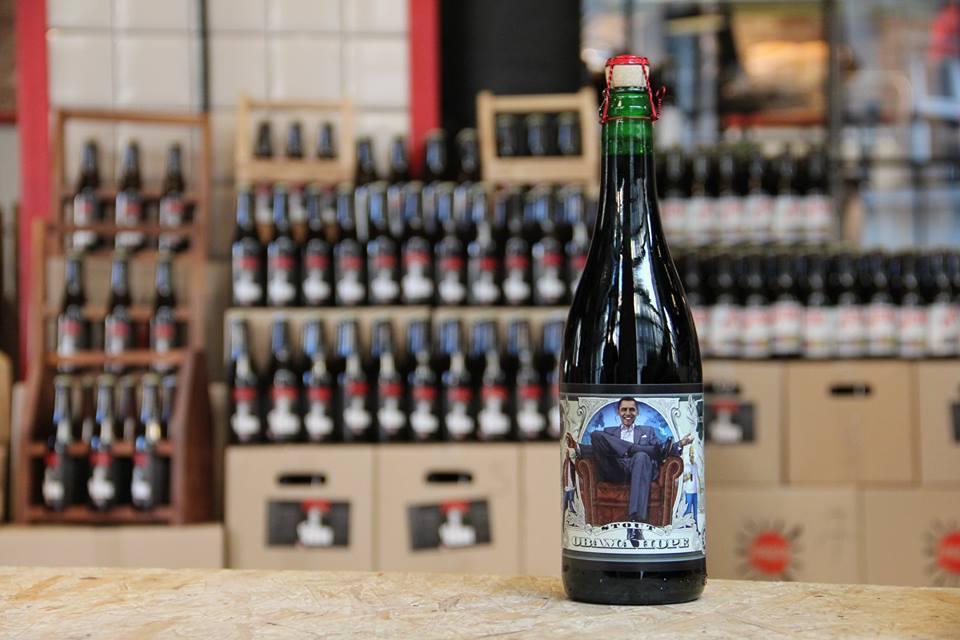 Bottles of Pravda Beer Theatre