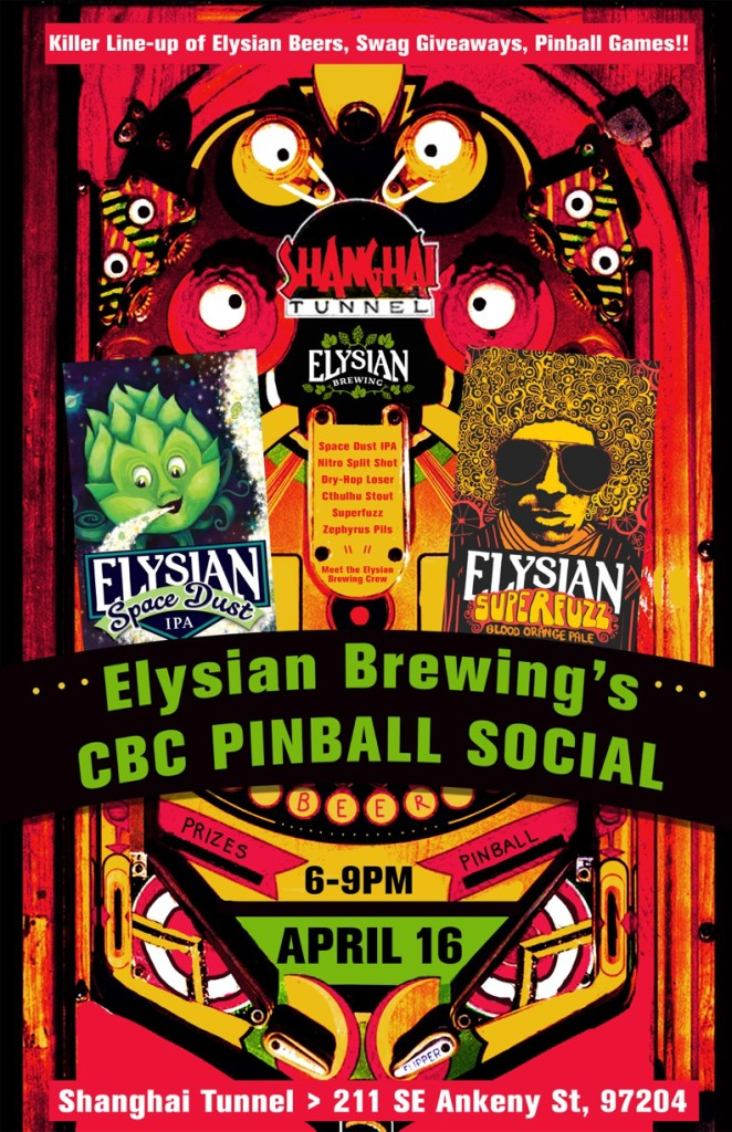 Elysian Brewing CBC Pinball Social