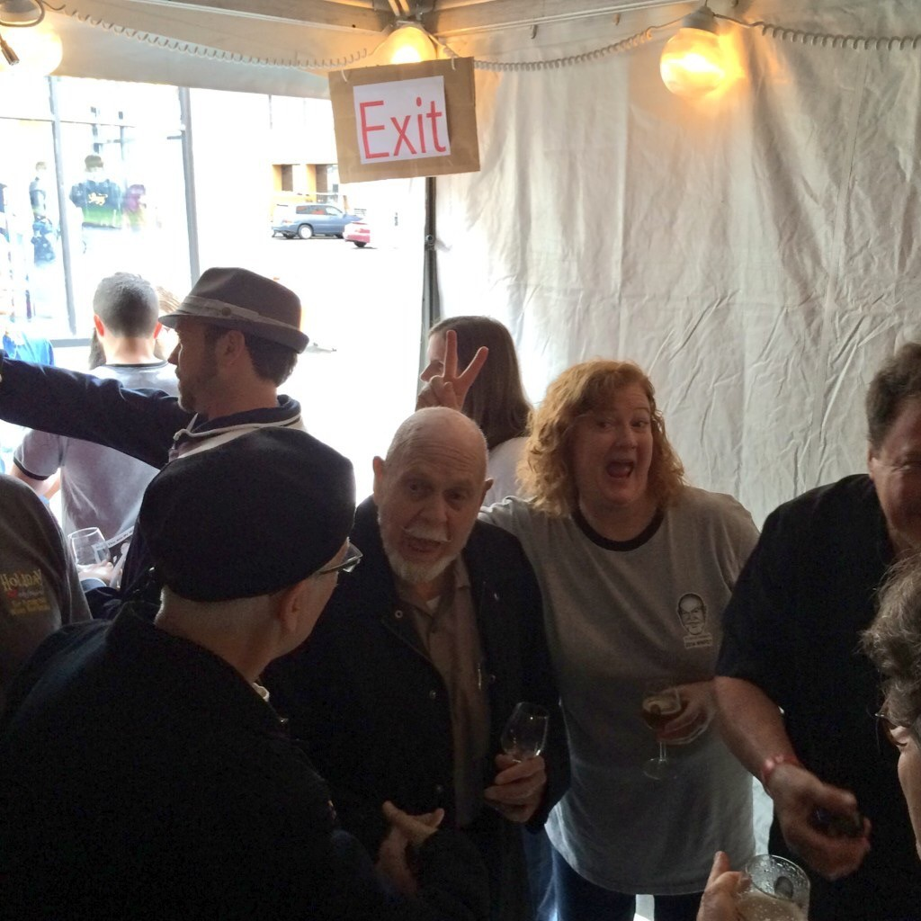 Fred Eckhardt & Lisa Morrison at FredFest 2014