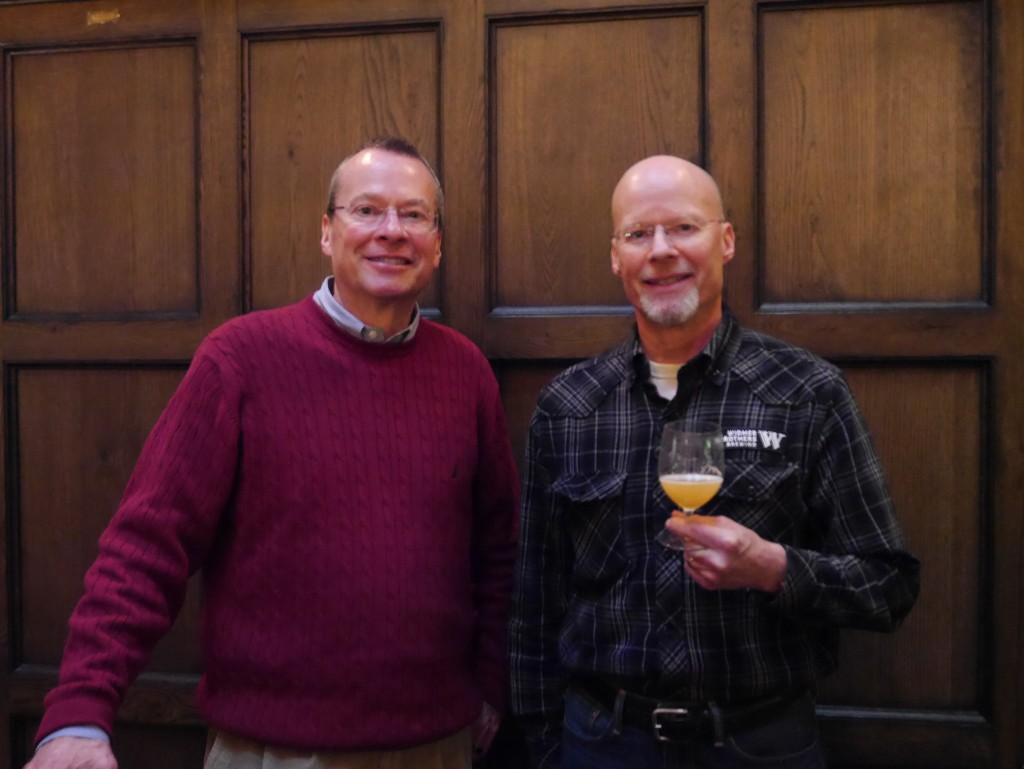 Kurt & Rob Widmer at Multnomah Whiskey Library