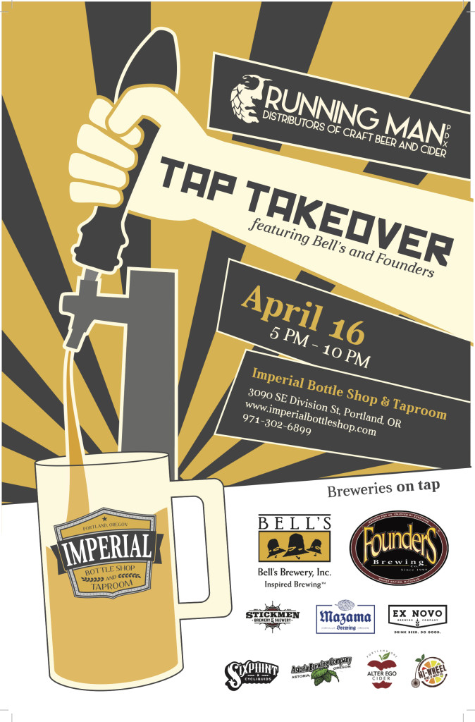 Running Man Imperial Tap Takeover CBC