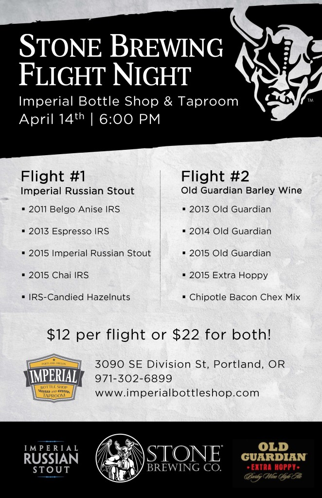 Stone Brewing Imperial CBC Event