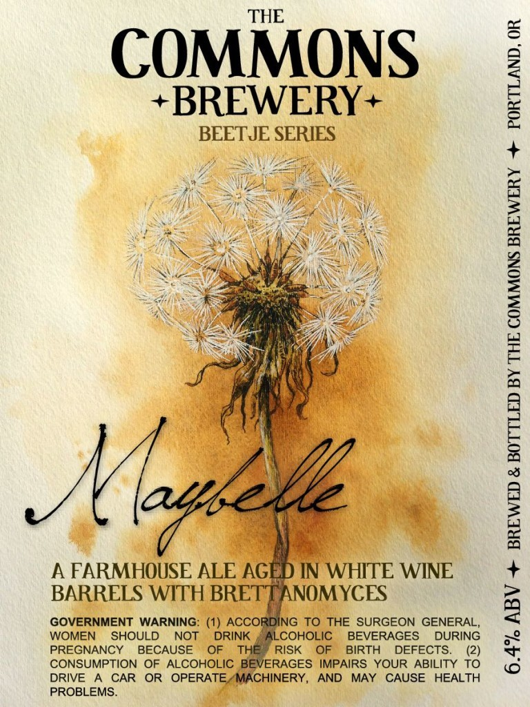 The Commons Brewery Beetje Series Maybelle