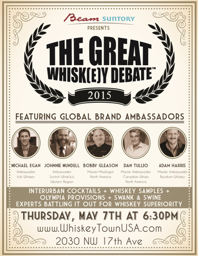 The Great Whisk(e) Debate at WhiskeyTown USA