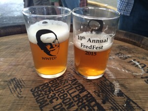 10th Annual FredFest Glassware