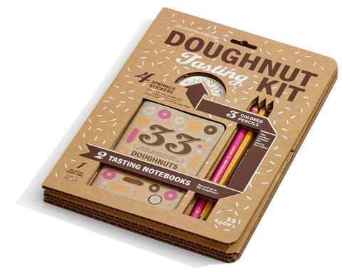 33 Books Doughnut Tasting Kit