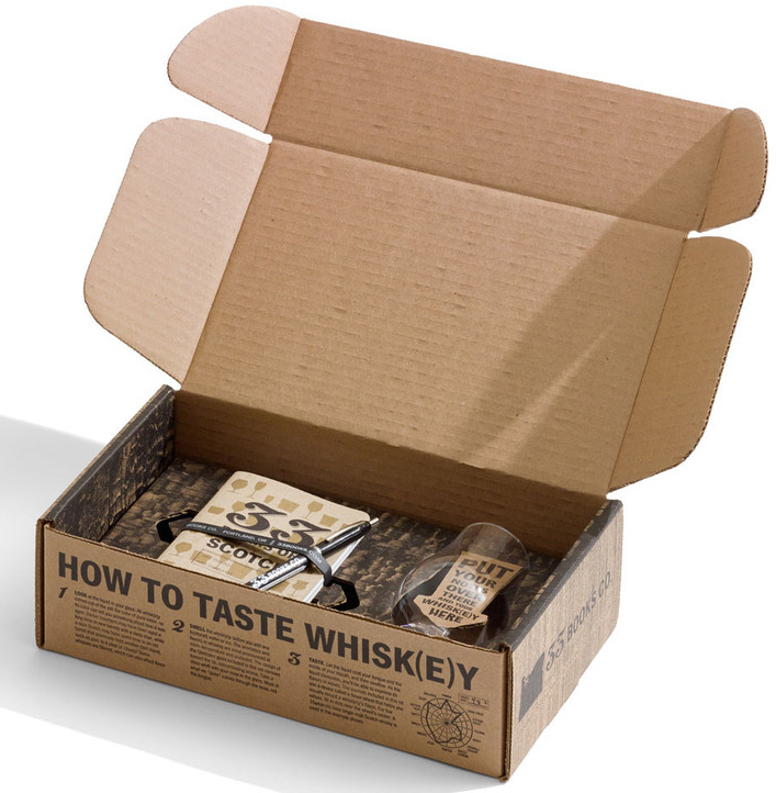 33 Books Whisk(e)y Tasting Set Box