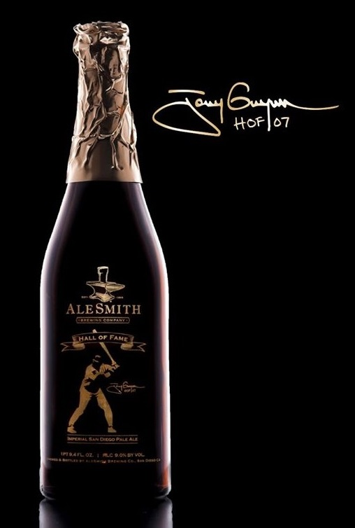 AleSmith Tony Gwynn Hall of Fame Imperial .394 Pale Ale Bottle
