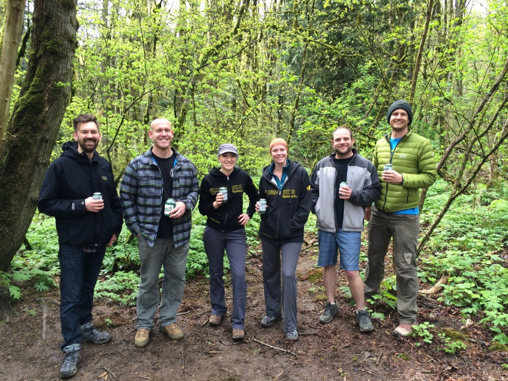 BMBW Hike with Eric Steen, Coalition Brewing, Burnside Brewing and Matt Wagoner in Forest Park