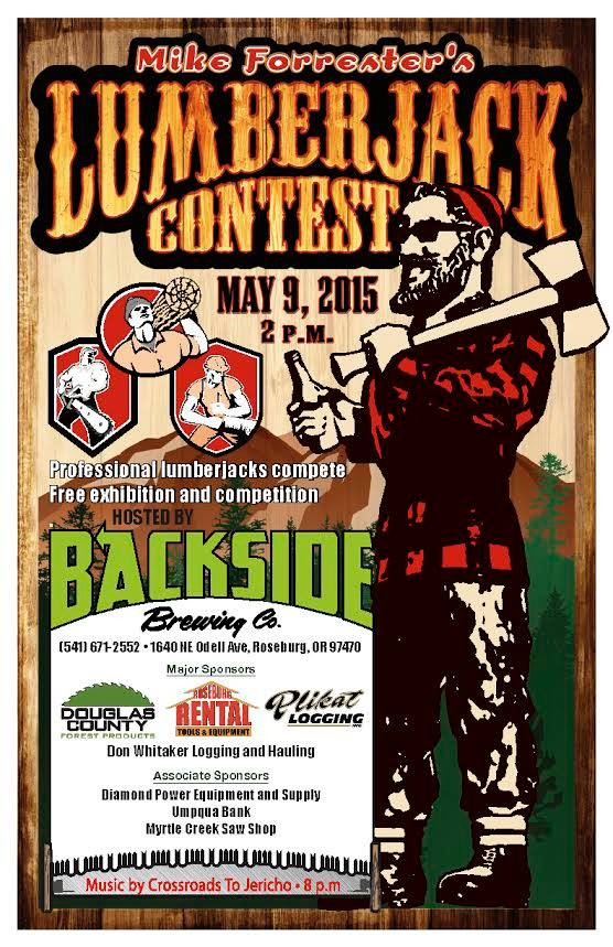 Backside Brewing Co. Lumberjack Contest