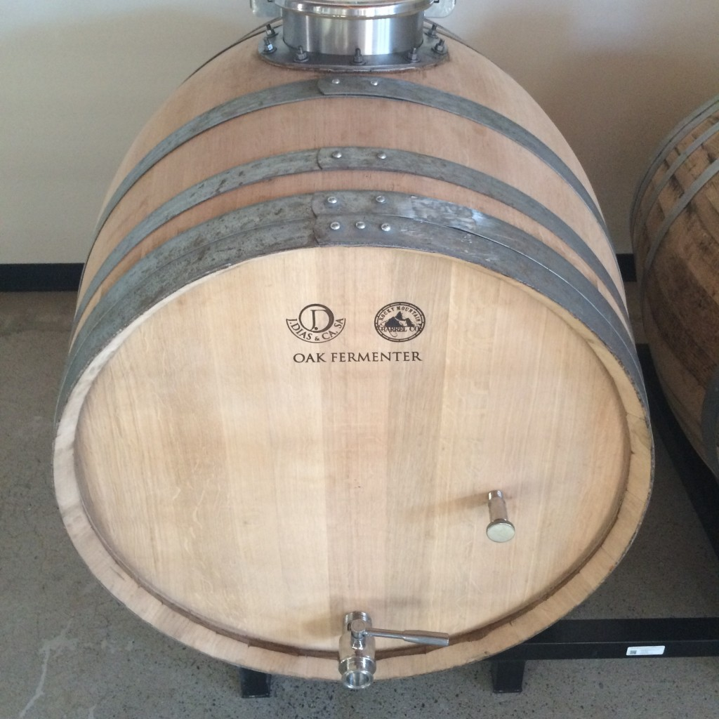 Barrel Aging at Reuben's Brews