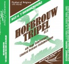Bazi & 't Hofbrouwerijke Hofbrouw Tripel Ale 4th Year Anniversary Label