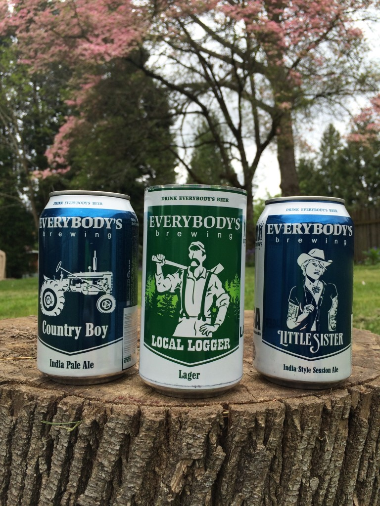 Evertybody's Brewing Line Up of Cans