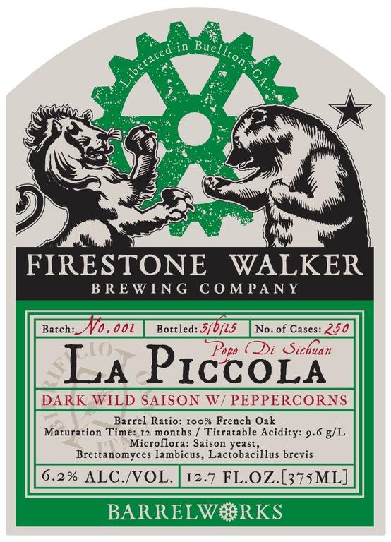 Firestone Walker & Birrificio Italiano La Piccola Label