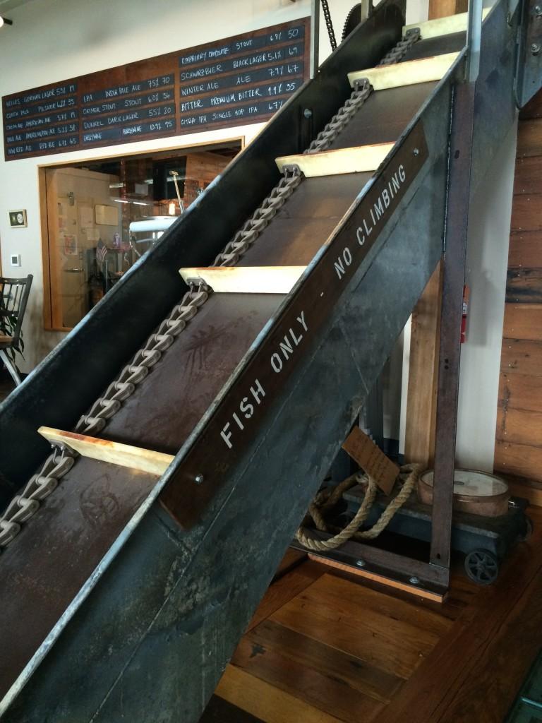 Fish Ladder at Buoy Beer Co