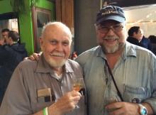 Fred Eckhardt and John Foyston at 2014 FredFest
