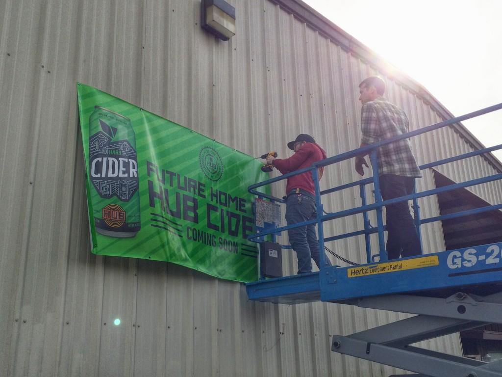 HUB Cider Banner